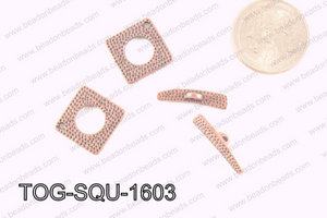 Square Toggle Copper 16mm TOG-SQU-1603