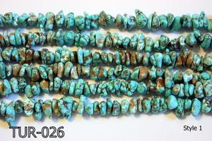 Turquoise Small Chips TUR-026
