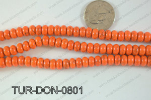Howlite Donut 8mm TUR-DON-0801