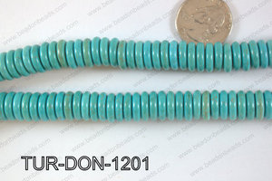 Howlite Donut 12mm TUR-DON-1201
