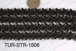 Howlite Star Black 15mm TUR-STR-1506