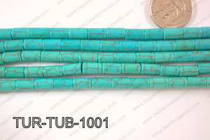 Howlite Tube 6x13mm TUR-TUB-1001