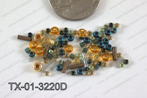 TOHO Seed Bead Mix Tube TX-01-3220D