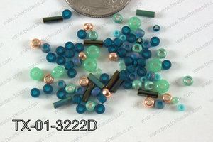 TOHO Seed Bead Mix Tube TX-01-3222D