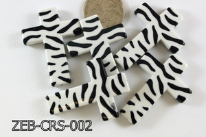 Zebra Cross 500 Gram Bag Black/White  ZEB-CRS-002