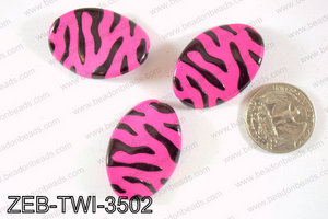 Zebra Twisted 25x35mm ZEB-TWI-3502