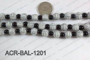 Acrylic Round Ball 12mm volleyball ACR-BAL-1201