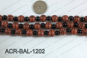 Acrylic Round Ball 12mm basketball ACR-BAL-1202