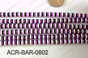 Acrylic Barrel 6mm ACR-BAR-0602
