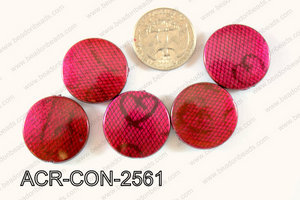 Acrylic Coin 500g Bag 25mm ACR-CON-2561