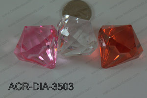 Acrylic Diamond Multicolor 35mm ACR-DIA-3503