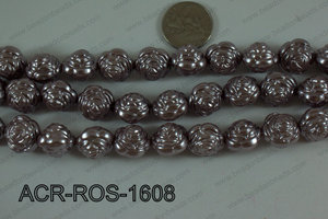 Acrylic Rose 16mm ACR-ROS-1608