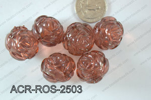 Acrylic Rose 500g Bag 25mm ACR-ROS-2503