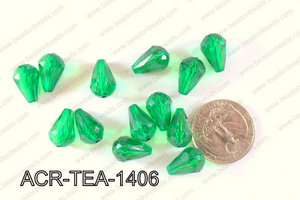 Acrylic Teardrop 500g Bag 14mm ACR-TEA-1406