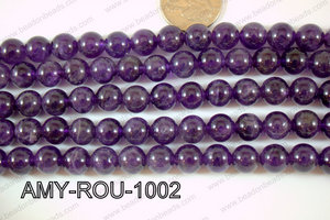 Amethyst Round 10mm AMY-ROU-1002