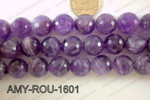 Amethyst Round Faceted 16mm AMY-ROU-1601