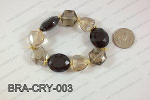 Bracelet with crystals BRA-CRY-003