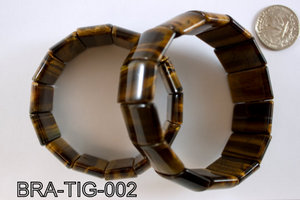Tiger Eye Braclete BRA-TIG-002