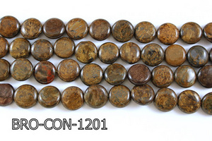 Bronzite Coin 12mm BRO-CON-1201