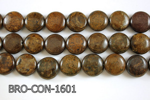 Bronzite Coin 16mm BRO-CON-1601