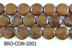 Bronzite Coin 20mm BRO-CON-2001
