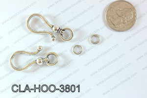 Clasp Hook 250g Bag 38mm CLA-HOO-3801