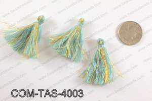 Thread tassels 38mm, Light blueCOM-TAS-4003