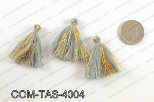 Thread tassels 38mm, GreyCOM-TAS-4004