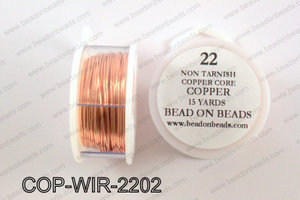 Non Tarnish copper core wrapping wire 22 gauge, CopperCOP-WIR-22