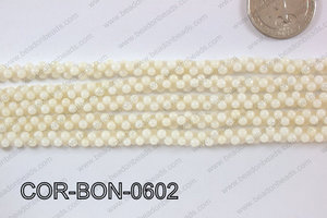 Coral Bone 6mm COR-BON-0602