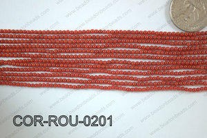 Coral Round 2mm COR-ROU-0201