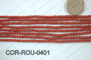 Coral Round 4mm COR-ROU-0401
