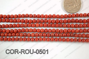 Coral Round 5mm COR-ROU-0501
