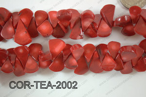 Coral Teardrop 10-20mm COR-TEA-2002