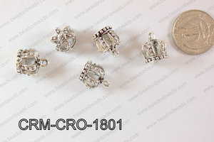 Charm Crown 20 pieces 18mm CRM-CRO-1801