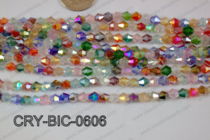 Angelic Crystal Bicone 6mm CRY-BIC-0606