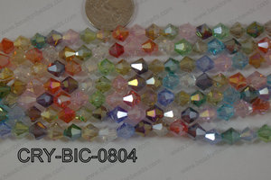 Angelic Crystal Bicone 8mm CRY-BIC-0804