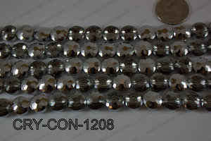 Angelic Crystal Coin Faceted 12mm CRY-CON-1208