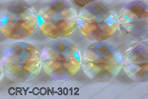 Angelic Crystal Coin 30mm CRY-CON-3012