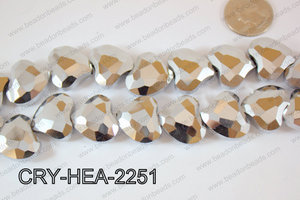 Angelic Crystal Abstract Heart 22mm CRY-HEA-2251