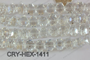 Angelic Crystal Hexagon 14mm CRY-HEX-1411