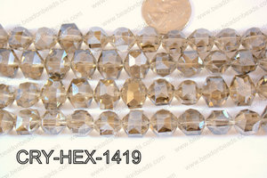 Angelic Crystals Hexagon 12x14mm CRY-HEX-1419