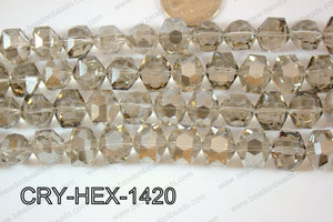 Angelic Crystals Hexagon 12x14mm CRY-HEX-1420