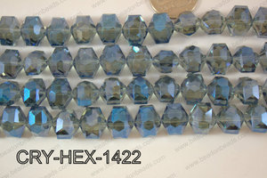 Angelic Crystals Hexagon 12x14mm CRY-HEX-1422