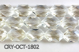 Angelic Crystal Octagon 18x25mm 14'' CRY-OCT-1802