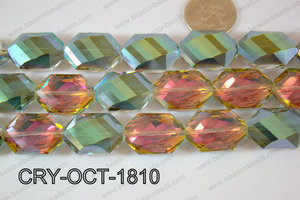 Angelic Crystal Octagon 18x25mm 14'' CRY-OCT-1810