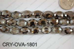 Angelic Crystal Faceted Oval 12x16mm CRY-OVA-1801