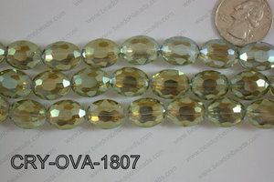 Angelic Crystal Faceted Oval 12x16mm CRY-OVA-1807