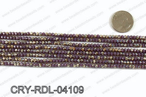 Angelic Crystals Rondels 4mm CRY-RDL-04109