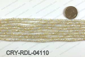 Angelic Crystals Rondels 4mm CRY-RDL-04110